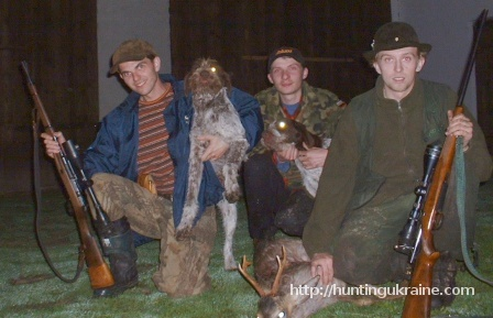 My hunting in Poland